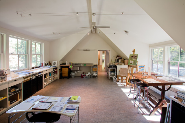 Artist S Cottage Modern Home Office Philadelphia
