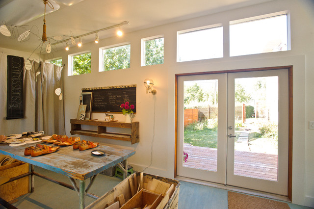 Artist 39 s studio studio shed lifestyle modern home office denver by studio shed - An artists home ...