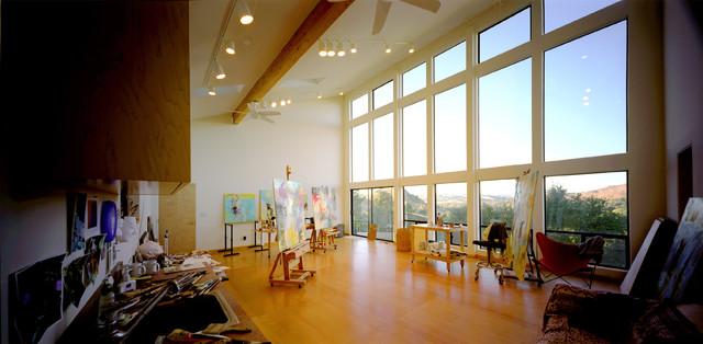 Artist Studio Modern Home Office San Francisco By