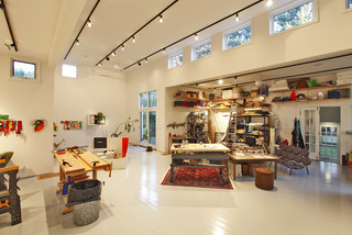 Artist Studio - Interior View modern-home-office