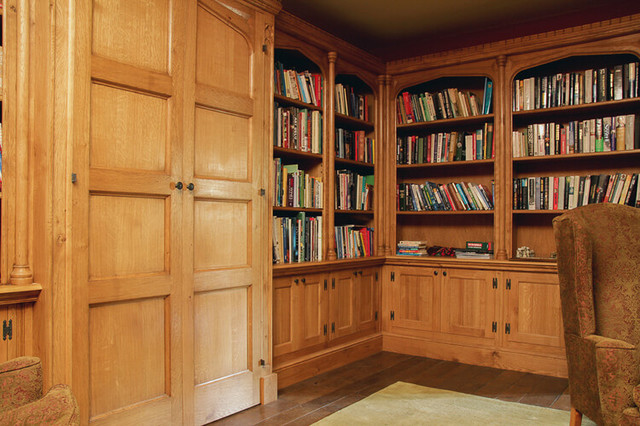 Arts And Crafts Style Library Arts Crafts Home Office Other By Arttus Interiors Houzz Uk