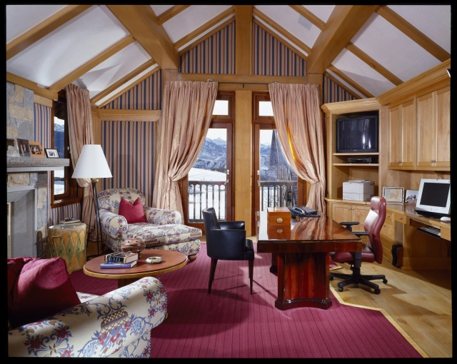 Aspen House traditional-home-office