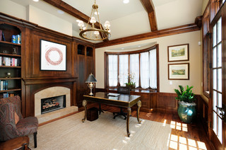 atherton california estate by markay johnson construction traditional home office other by markay johnson construction atherton library traditional home office