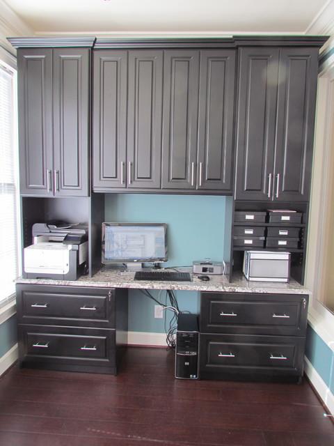 atlanta closet home office in black transitional home office atlanta closet home office