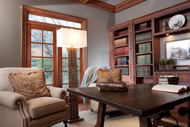 MB Study traditional-home-office