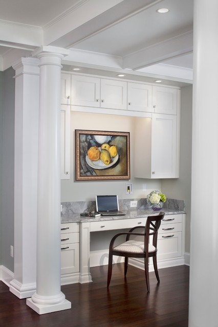 Avenel Aglow transitional-home-office