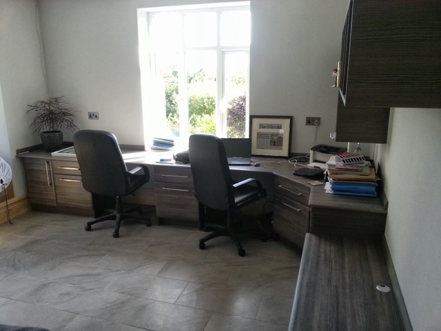 Avola Grey Office Project contemporary-home-office