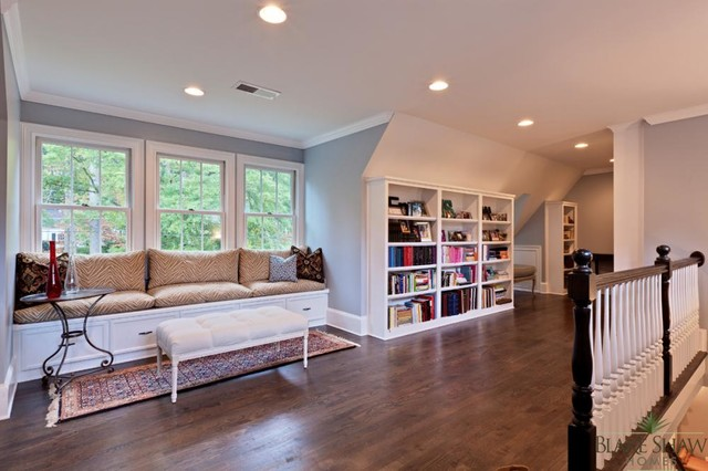 Avondale Estates Renovation traditional-home-office