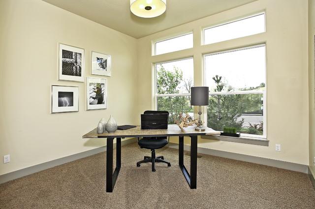 """AWARD WINNING"" The Horizon contemporary-home-office"