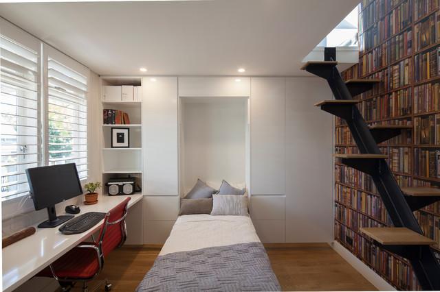 Minimalistisch Arbeitszimmer By Justin Loe Architects