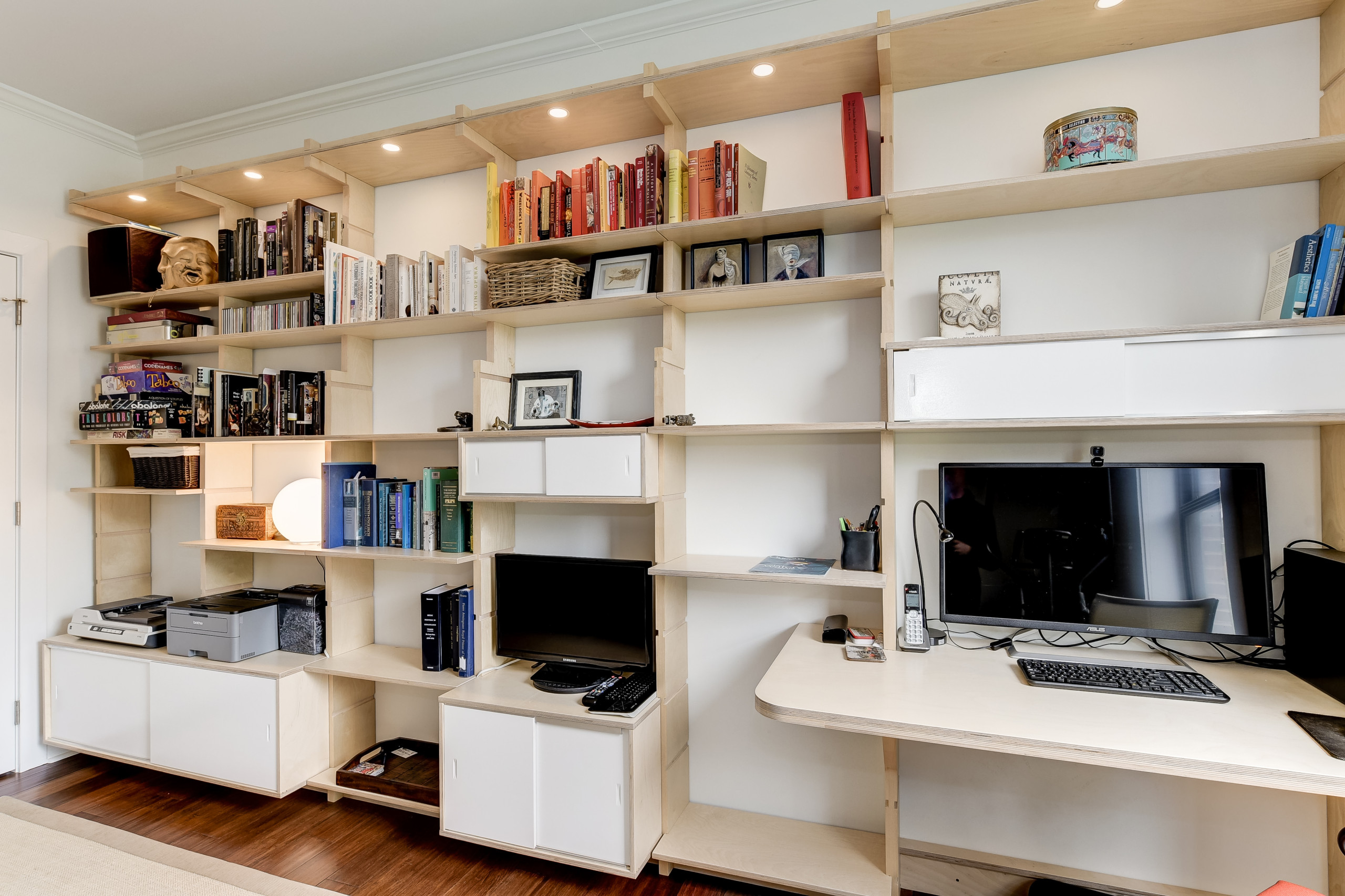 Baltimore Home Office - SARA Wall System