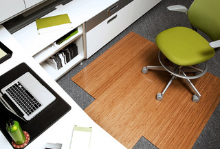 Bamboo Chair Mat Traditional Home Office Orange County By Hemphill S Rugs Carpets Houzz Ie