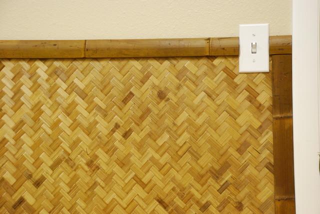 Bamboo Slats tropical-home-office
