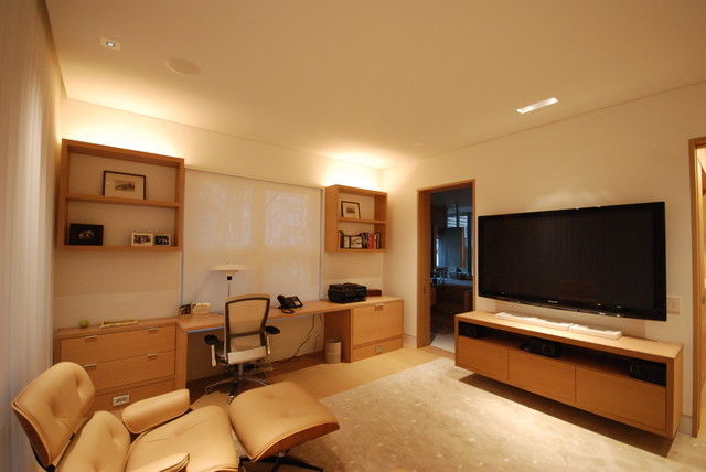 Bars entertainment centers contemporary home office for Entertainment bar for home