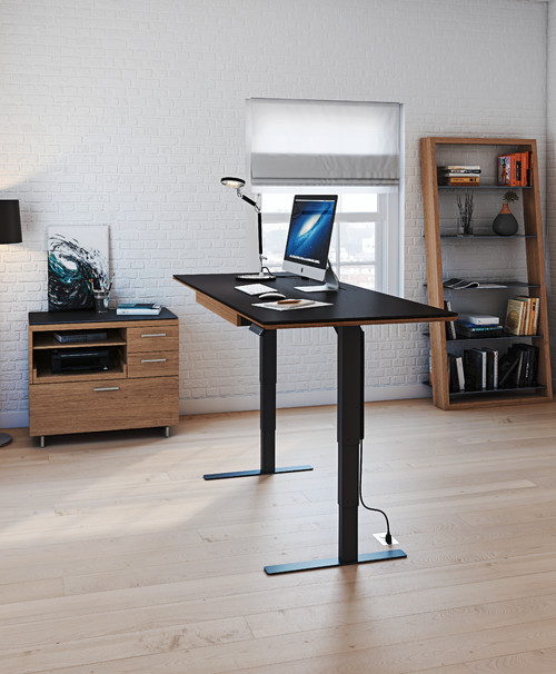 ergonomic home office desk forbes photo by bdi furniture browse contemporary home office ideas how to design healthy home office that increases productivity
