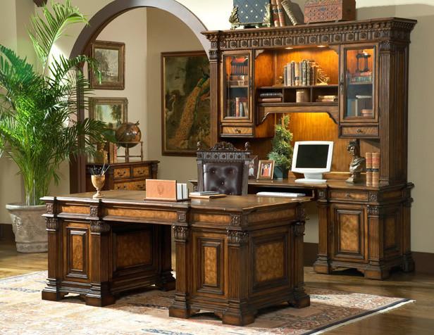 Beauregard Executive Desk Mediterranean Home Office And Library