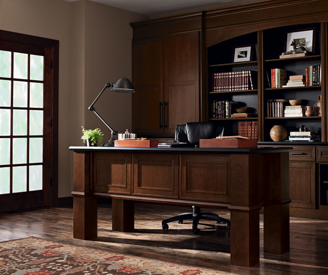 Beckwith Office Cabinets Transitional Home Office
