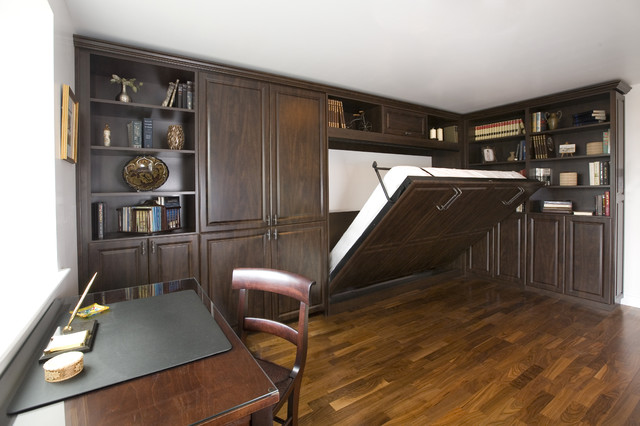 belgian chocolate home office side tilt wall bed
