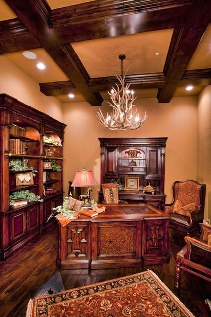 bentley manor custom home design home office