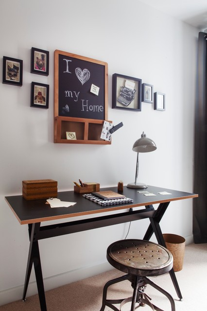 bermondsey house   eclectic   home office   london   by