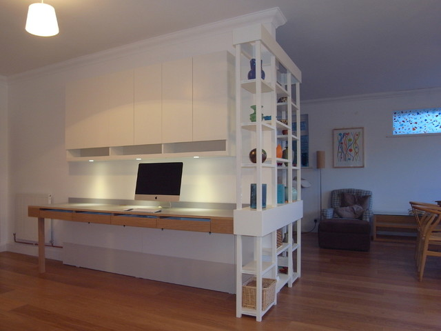 bespoke home study potters bar hertfordshire contemporary home office and bespoke home office