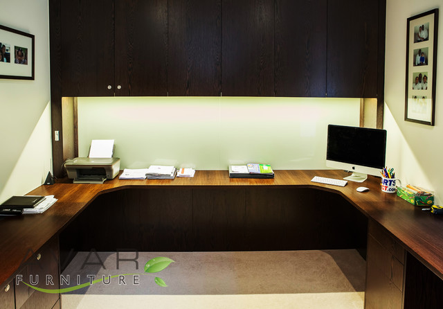 Bespoke Office Furniture Contemporary Home Office London By Bespoke Fitted Furniture