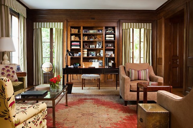 Beverly Hills transitional-home-office