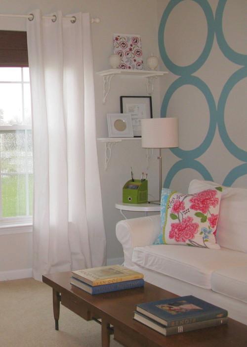 Shoshana eclectic living room