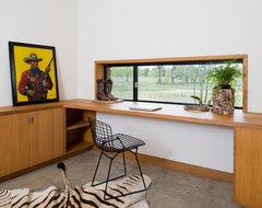 Big Tree Camp modern-home-office