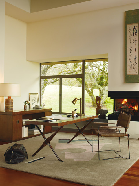 Bill Sofield for McGuire Furniture contemporary-home-office