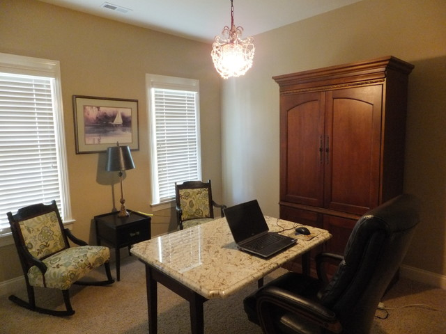 Bishops Bayou traditional-home-office