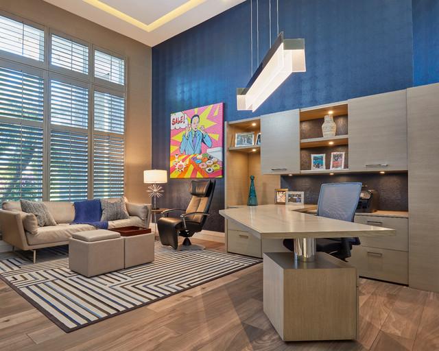 Boca Raton Fl Contemporary Home Office Miami By