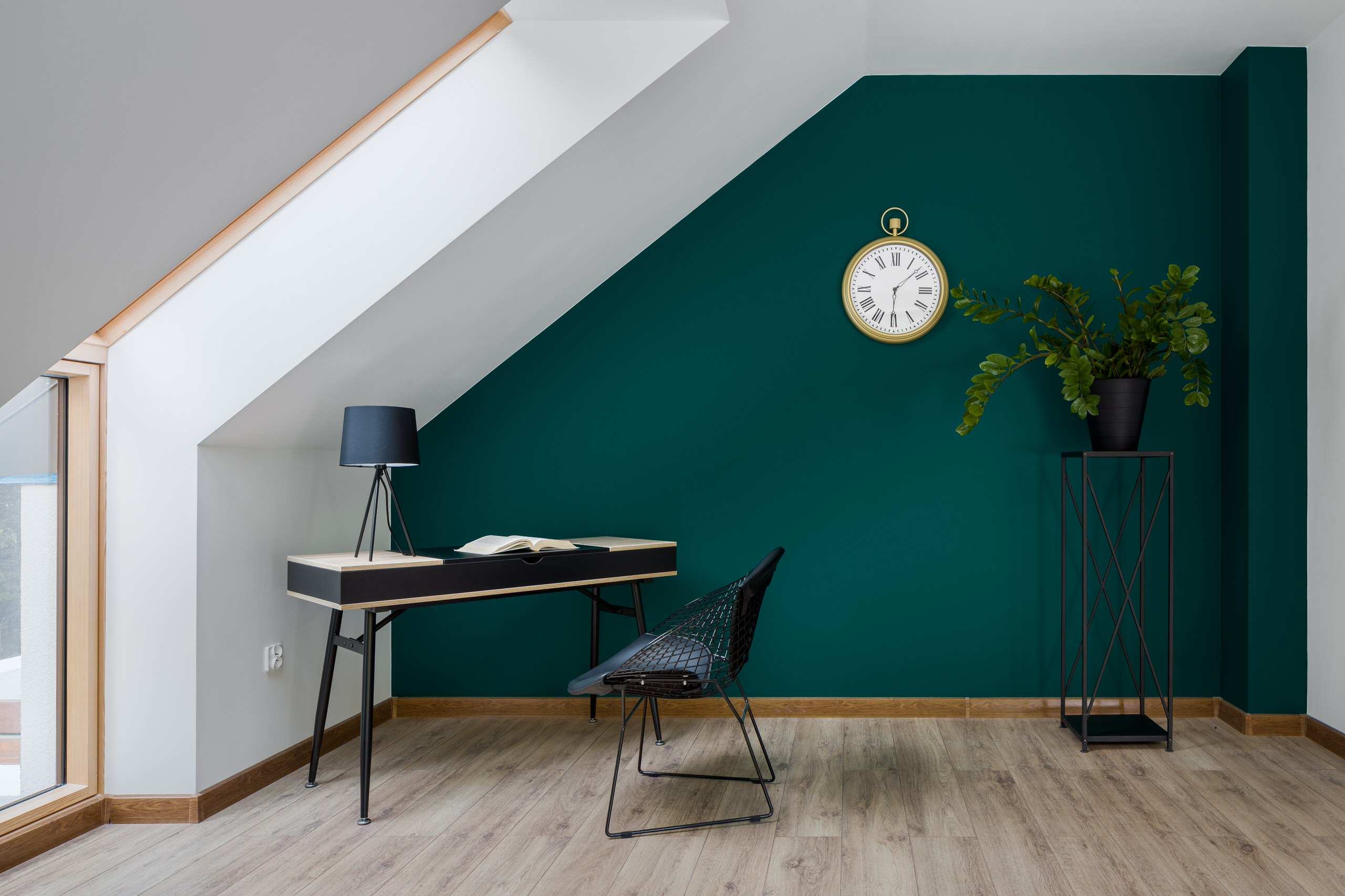 Bold Modern home office