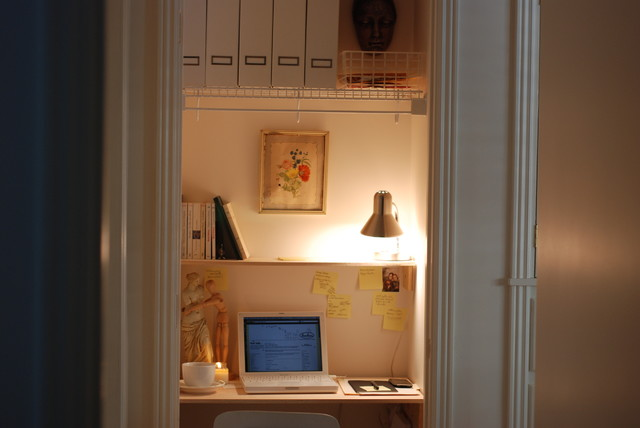eclectic home office bonbonliving.com