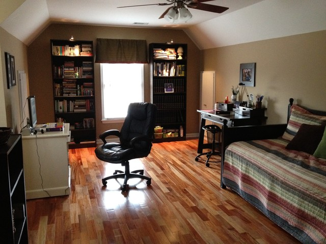 Bonus room traditional home office atlanta for Bonus room ideas