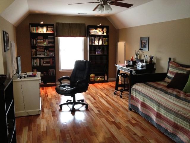 Bonus room traditional home office atlanta for Bonus room ideas