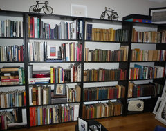 books eclectic home office