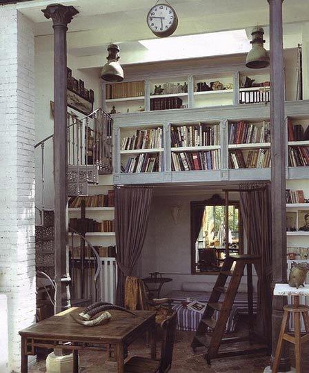 Fun And Cozy Library Design By Yta: Interior Styles And Design: Lofts