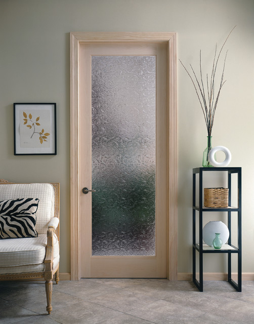 Bordeaux Decorative Glass Interior Door Home Office
