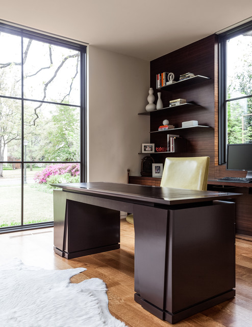 bordeaux residence contemporary home office other by stocker hoesterey montenegro. Black Bedroom Furniture Sets. Home Design Ideas