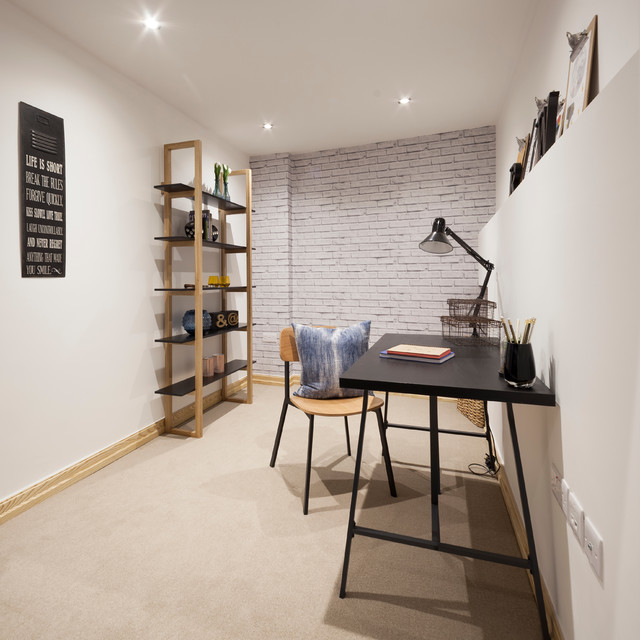 22 Scandinavian Home Office Designs Decorating Ideas: Home Office & Library