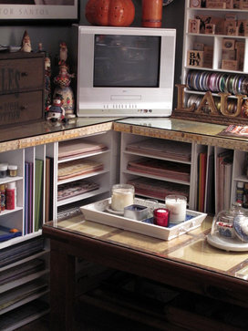 Brenda Kula eclectic home office