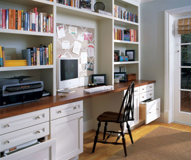 Brentwood office cabinets transitional home office chicago by studio41 home design for Studio41 home design showroom southside chicago