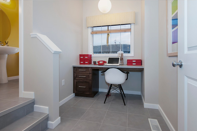 Bristol Show Home in EvansRidge (NW, Calgary) contemporary-home-office