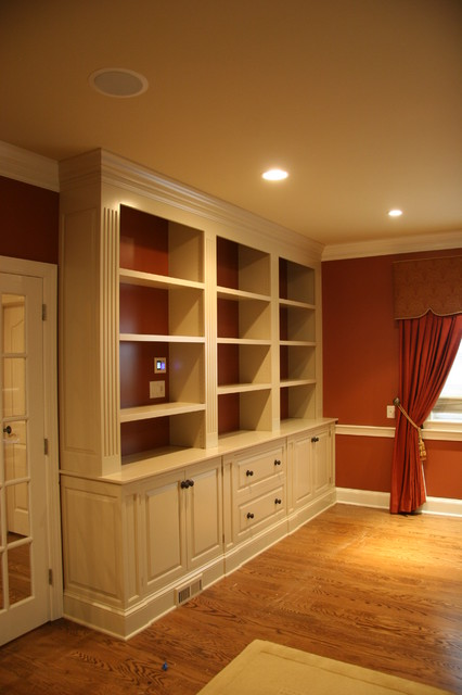 Bucks County Office Traditional Home Office