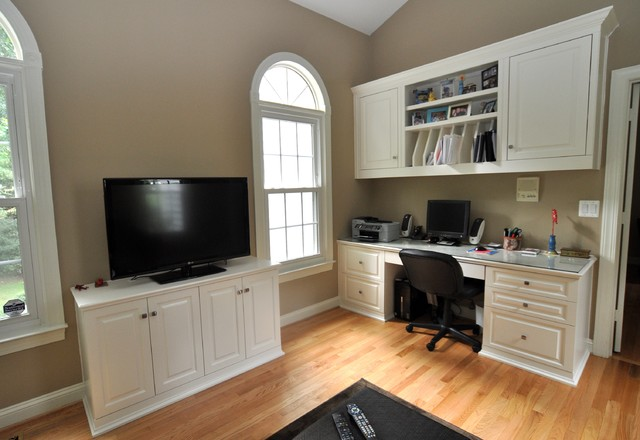 Built In Cabinets - Traditional - Home Office - DC Metro - by Brave Custom Woodworking