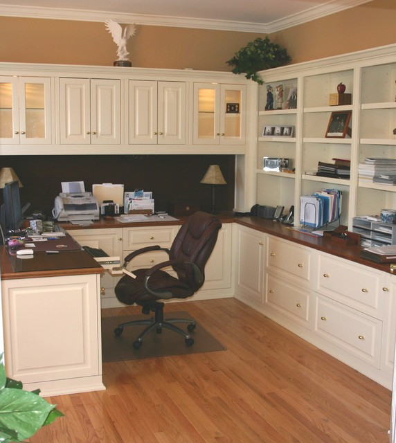 Wonderful Built In Cabinets Traditional Home Office