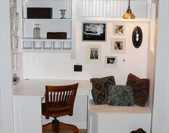 Built in office and reading nook <a rel=