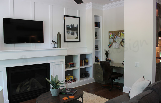 Built-in's Gallery traditional-home-office