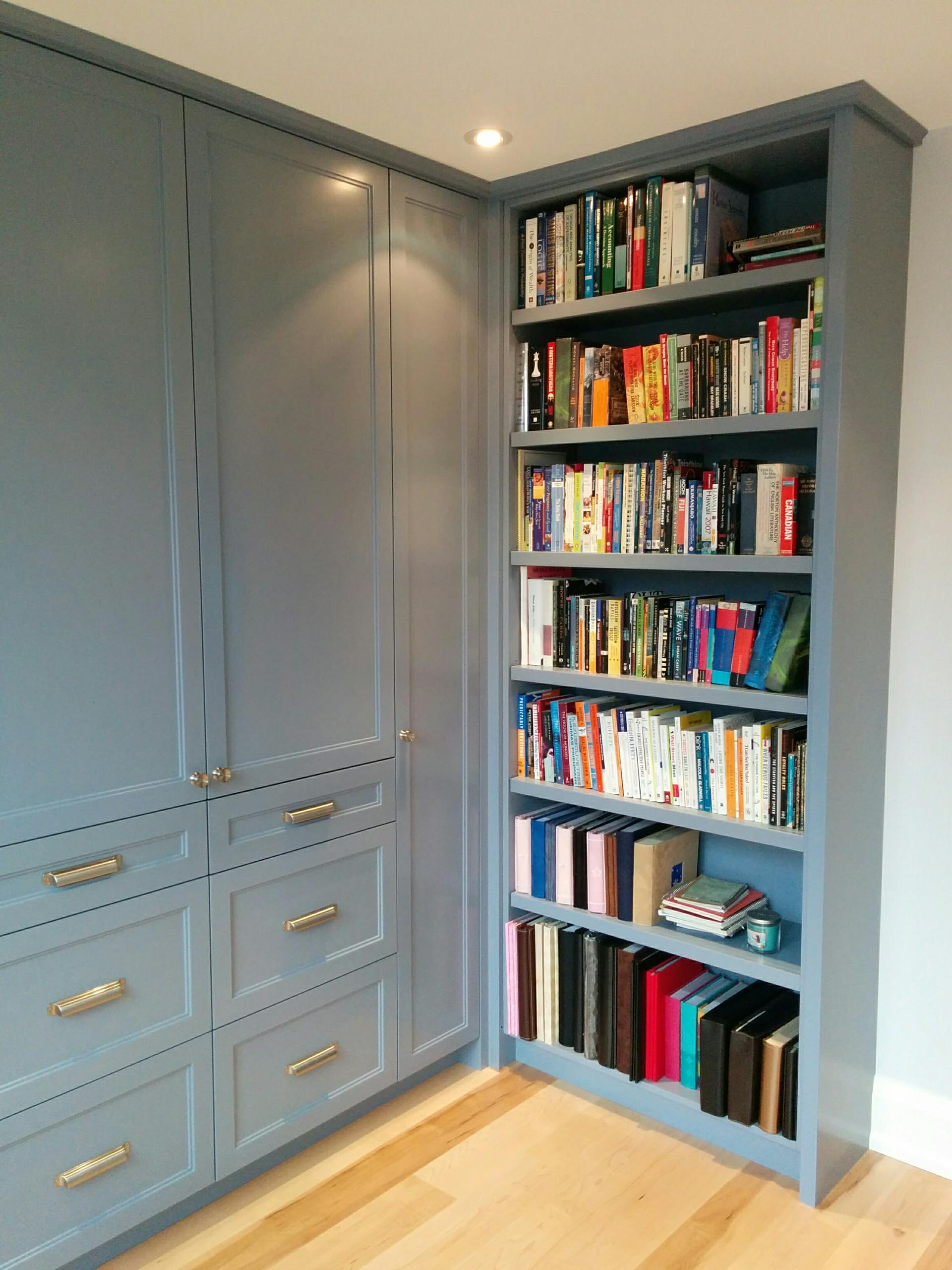 Built-in Storage in Home Office